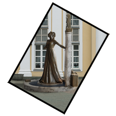 Anastasiia Gaidar sculptress