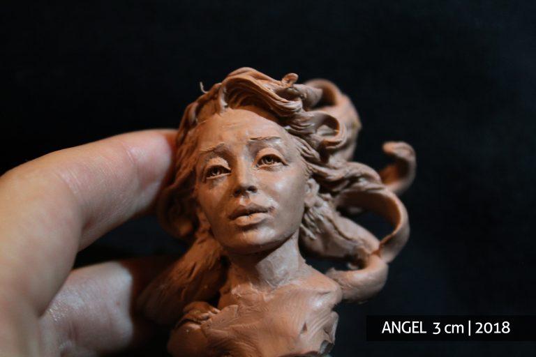 Angelas skulptūrą pagal užsakymą skulptūros gamyba biustas