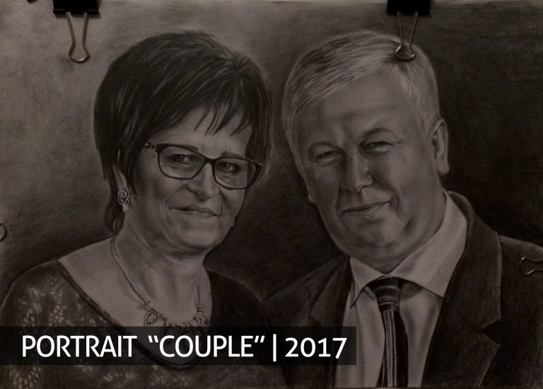 Couple order portrait