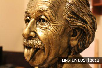 Альберт Эйнштейн скульптура на заказ производство скульптуры бюст