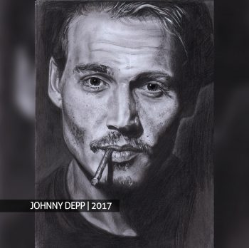 Джонни Депп портрет на заказ