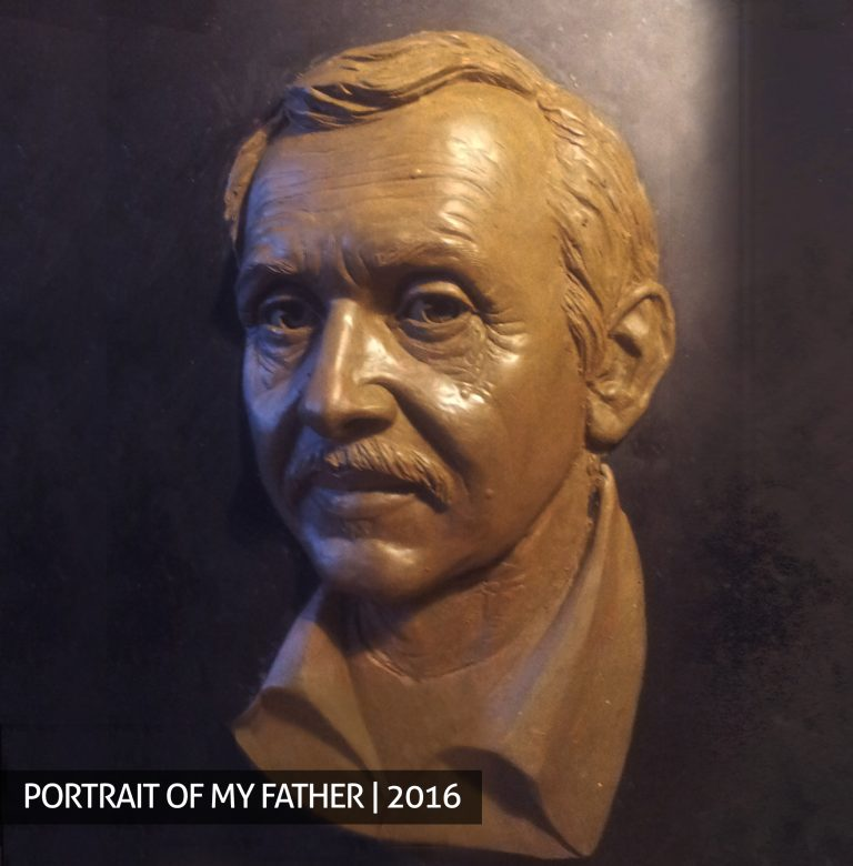Portrait of my father order buy sculpture bust