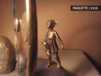 Riteris skulptūrą pagal užsakymą skulptūros gamyba biustas